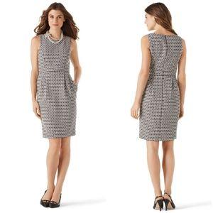 🚨NEW WHBM Geo Print Tulip Skirt Career Dress